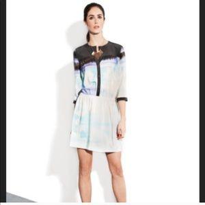 Diane vonFurstenberg Marielle 100% silk dress